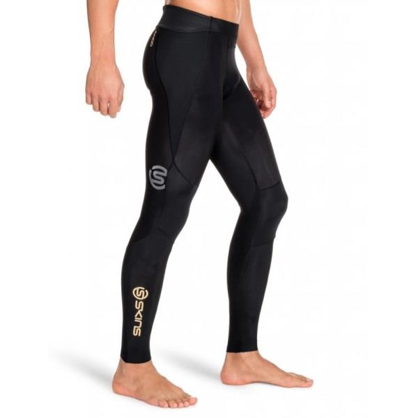 Skins A400 Mens Compression Long Tights – Black
