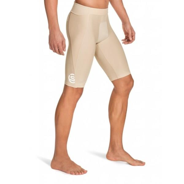 Skins A400 Mens Compression Half Tights – Beige