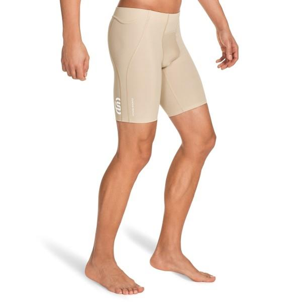 Skins A400 Mens Compression Power Shorts – Beige