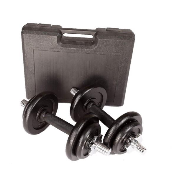 20kg Dumbbell Set with Carrying Case