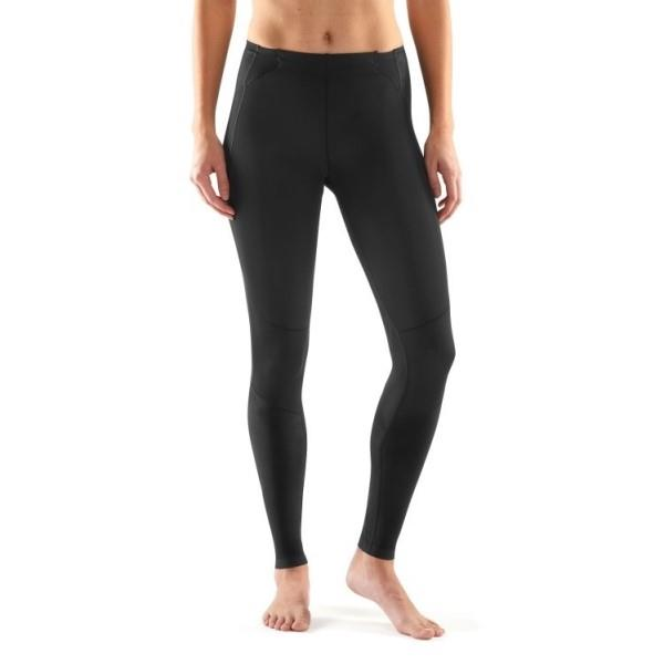 Skins A400 Skyscraper Womens Long Compression Tights – Black