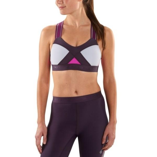 Skins DNAmic Speed Womens Crop Top – Magenta