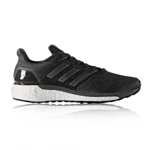 Adidas Supernova – Womens Running Shoes – Grey/Night Metallic/Core Black