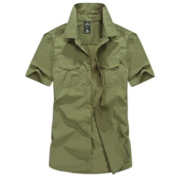Band Cargo Dress Shirts for Men