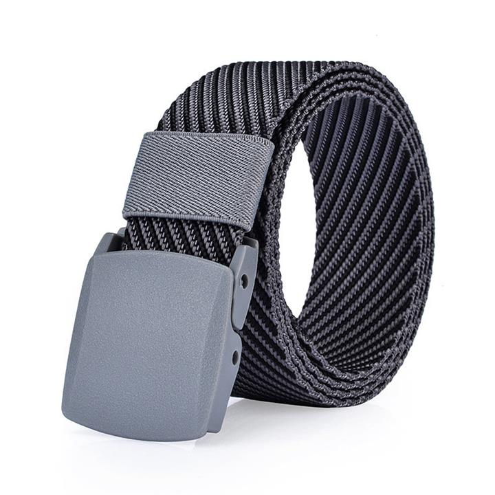 125CM Men Nylon Belt Resin Buckle Outdoor Sport Military Tactical Durable Pants Strip