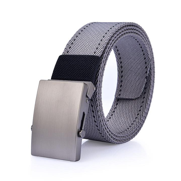 125CM Men Nylon Line Belt Alloy Buckle Outdoor Sport Military Tactical Durable Pants Strip