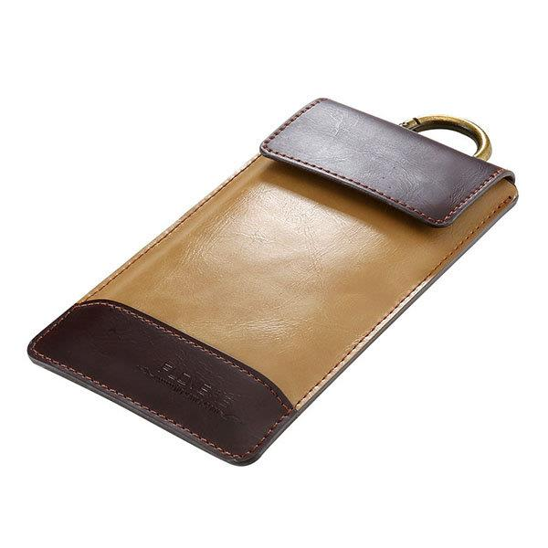 5.5/4.7 Inch PU Leather Phone Bag Universal Multi-functional Phone Cover Wallet For Men