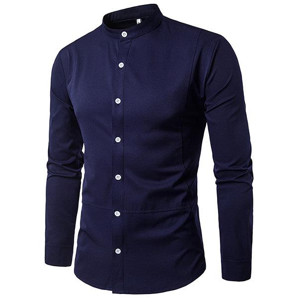 Button Up Bussiness Designer Dress Shirt