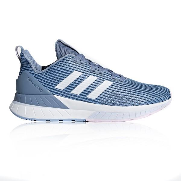 Adidas Questar TND – Womens Running Shoes – Raw Grey/White/Aero Blue