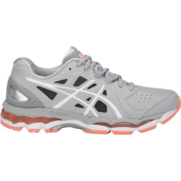 Asics Gel 800XTR – Womens Cross Training Shoes – Mid Grey/White/Begonia Pink