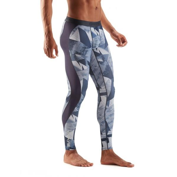 Skins DNAmic Mens Compression Long Tights – Havana Blizzard