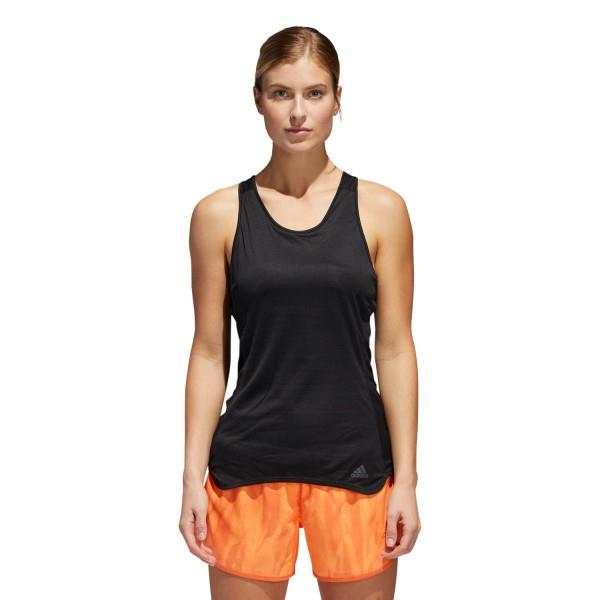 Adidas Response Light Speed Womens Running Tank Top – Black