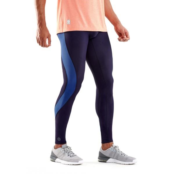 Skins DNAmic Mens Compression Long Tights – Mariner