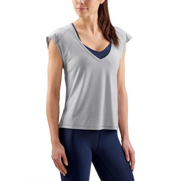 Skins Activewear Odot Womens Training T-Shirt – Zinc