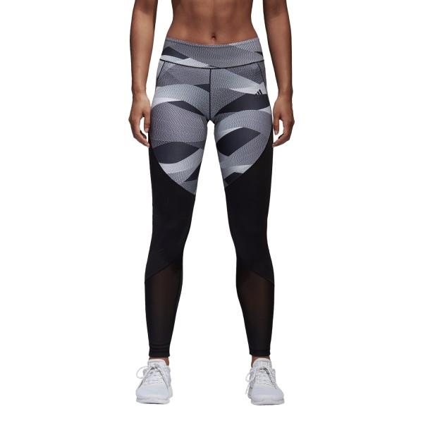Adidas Ultimate Cut And Sew Womens Training Tights – Black/White