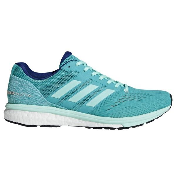 Adidas Adizero Boston 7 Boost – Womens Running Shoes – Hi-Res Aqua/Clear Mint/Mystery