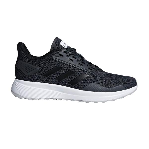Adidas Duramo 9 – Womens Running Shoes – Carbon/Black/Grey