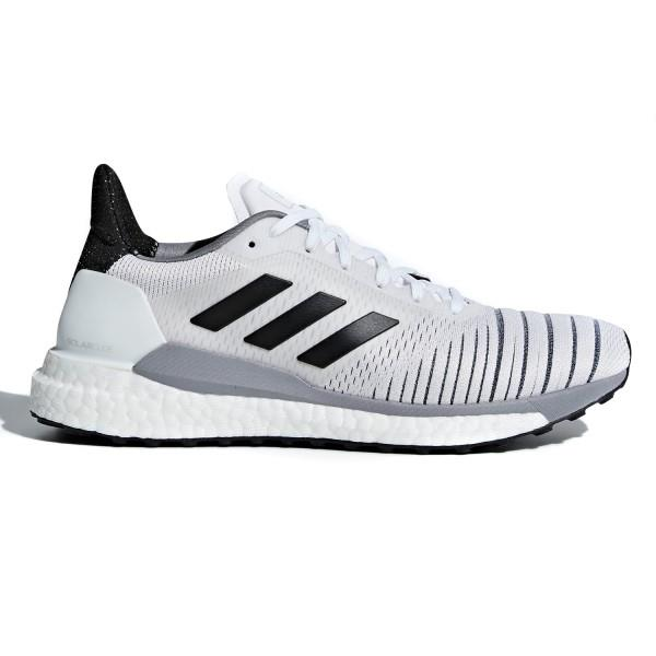 Adidas Solar Glide – Womens Running Shoes – Footwear White/Core Black/Grey