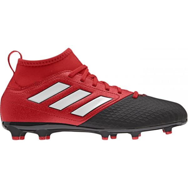 Adidas Ace 17.3 Primemesh Firm Ground – Kids Boys Football Boots – Red/White/Black