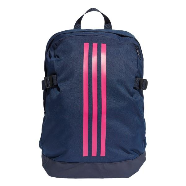 Adidas 3-Stripes Power Medium Backpack Bag –  Collegiate Navy/Real Magenta