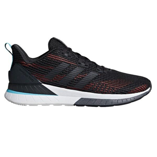 Adidas Questar TND – Mens Running Shoes – Carbon/Black/Red