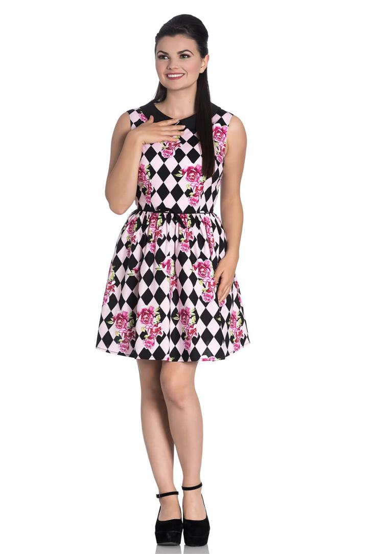 [Special Order] Hell Bunny Harlequin Mini Dress (XS – XL Only)