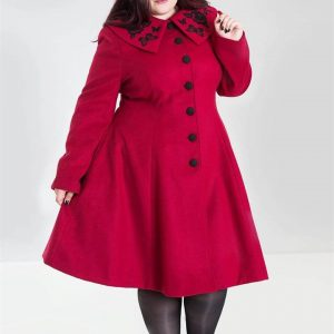 [Special Order] Hell Bunny Herrmione Coat – Red