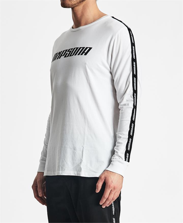 Finish Line Long Sleeve T-Shirt White