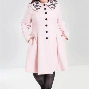 [Special Order] Hell Bunny Herrmione Coat – Pink
