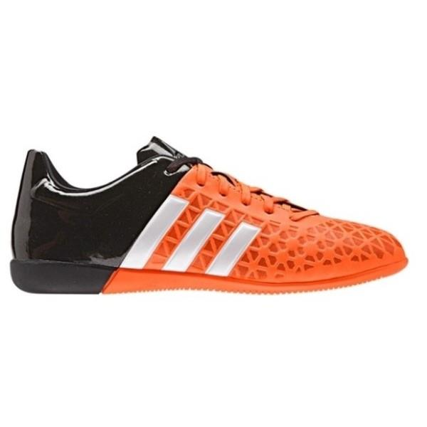Adidas Ace 15.3 IN J – Kids Indoor Soccer Shoes – Orange/Black/White