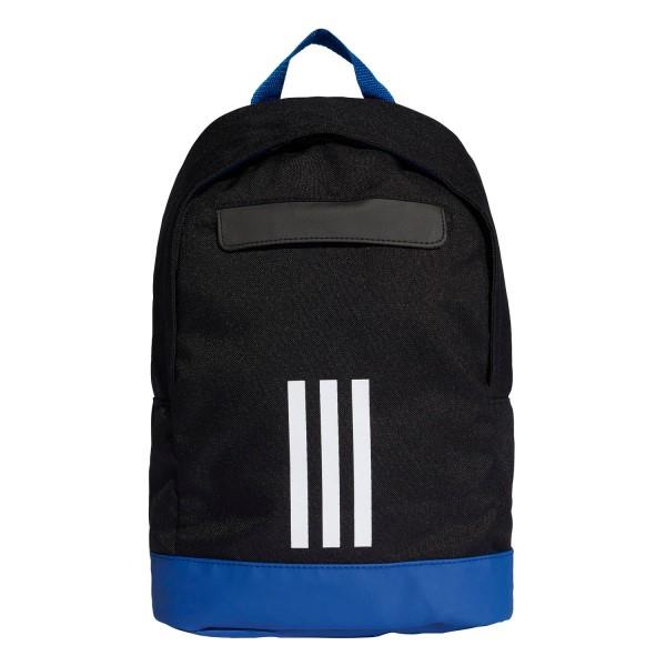 Adidas Adi Classic 3-Stripes Kids Backpack Bag – Extra Small – Black/White