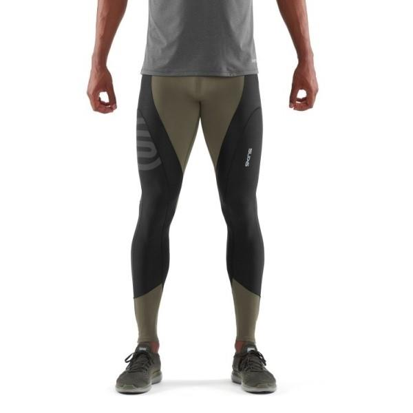 Skins DNAmic K-Proprium X-Fit Mens Compression Tights – Utility/Black