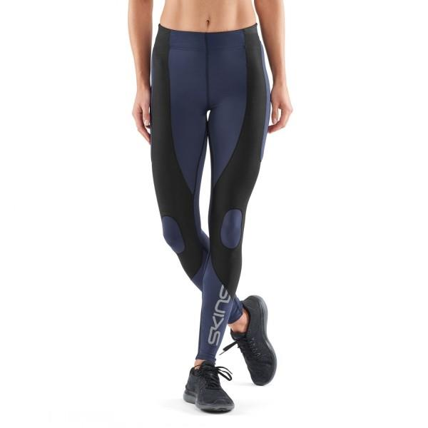 Skins DNAmic K-Proprium Womens Compression Tights – Navy Blue/Black