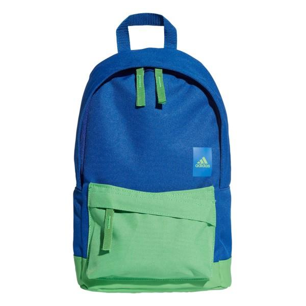 Adidas Adi Classic Kids Backpack Bag – Extra Small – Collegiate Royal/Energy Green