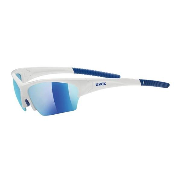 UVEX Sunsation – Multi Sport Sunglasses – White/Blue