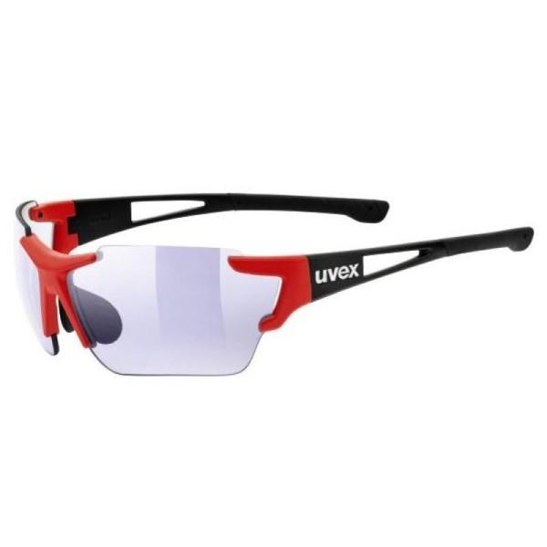 UVEX Sportstyle 803 – Multi Sport Sunglasses – Red/Black