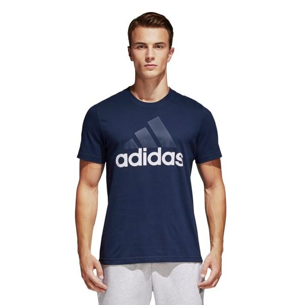 Adidas Essentials Linear Mens Casual T-Shirt – Collegiate Navy