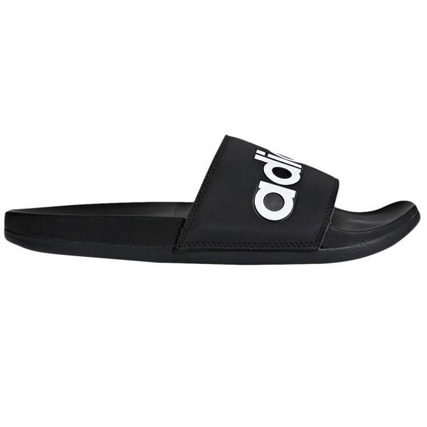 Adidas Adilette Comfort Mens Casual Slides – Black/White