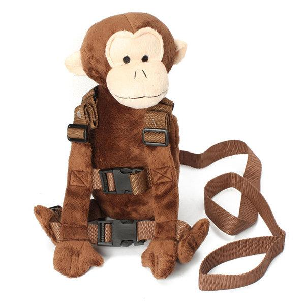 1-3 Years Old Baby Kid Toddler Walking Safety Harness Strap Backpack