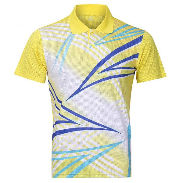 Badminton Table Tennis Competitions Summer Training Sports Quick Drying Suit Tops For Mens