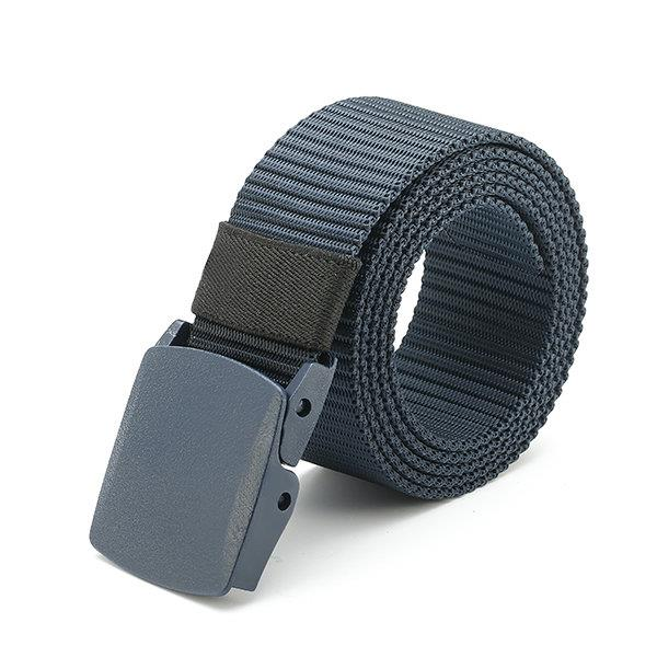 120CM Men Nylon Belt Military Tactical Durable Buckle Pants Casual Strip