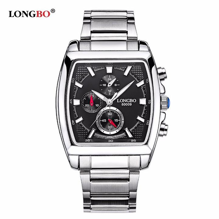 LONGBO Big Dial Quartz Watches