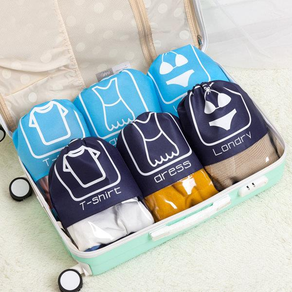 10-Pieces Waterproof  Drawstring Dust Bag Nonwoven Fabrics Dustproof Storage Bag Buggy Bag