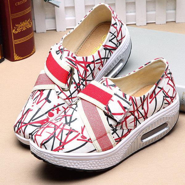 Adjustable Elastic Platform Shoes