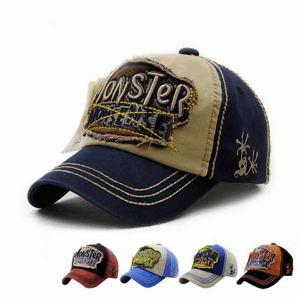 Fashion Kids Boys Girls Cotton Embroidery Letter Baseball Hat Outdoor Sports Sunshade Cap