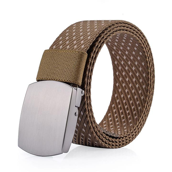 125CM Men Women Nylon Alloy Buckle Belt Outdoor Casual Military Tactical Durable Pants Strips