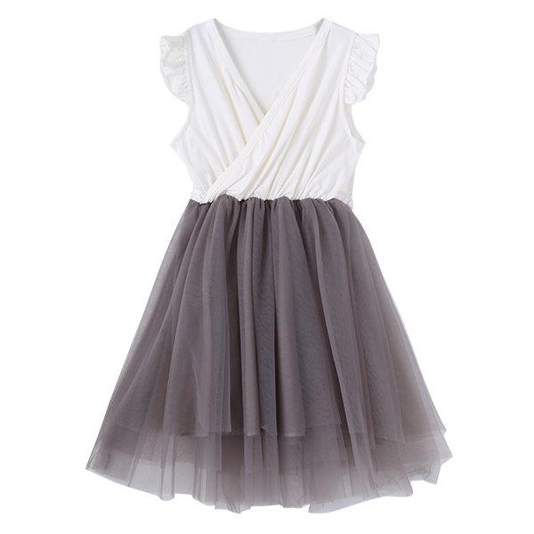 Girls Lace Tulle Party Princess Dresses