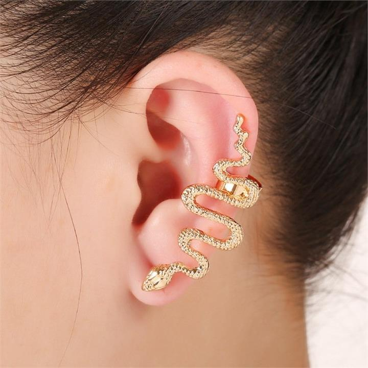 1 Pc Statement Snake Ear Cuff