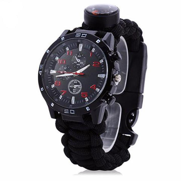 Compass Whistle Outdoor Watch