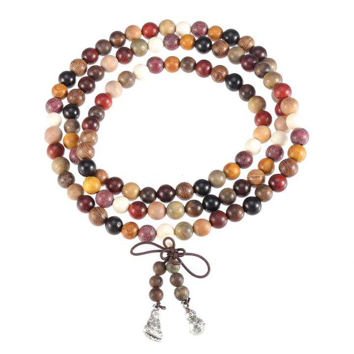 108 Sandalwood Prayer Beaded Bracelet